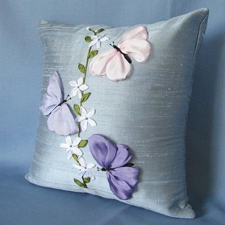 Уникальная подушка, созданная своими руками