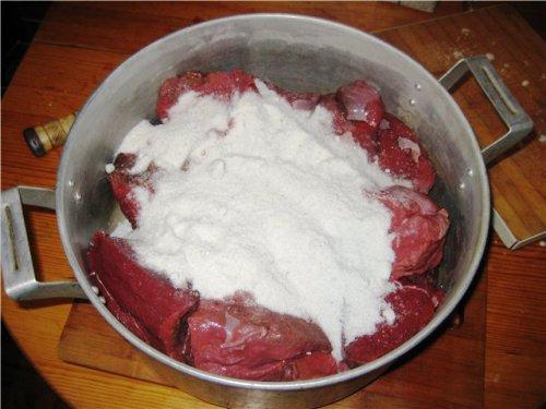 Как солить блюда