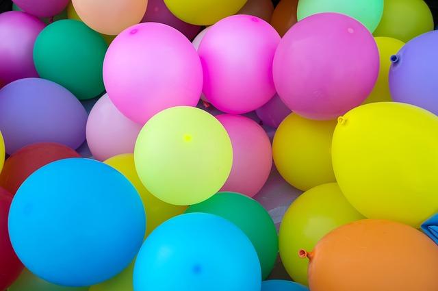 воздушные шары для арки