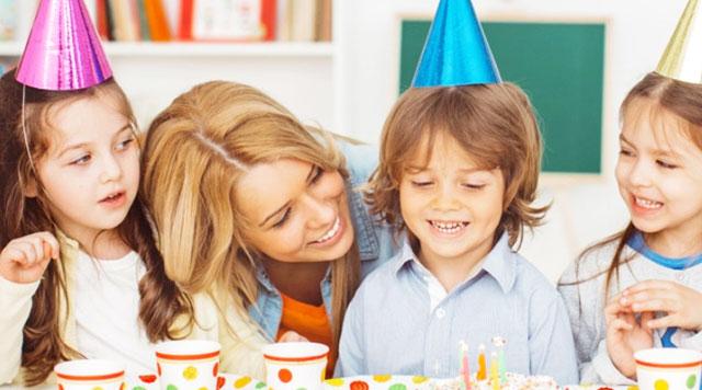 Как необычно отпраздновать детский День Рождения