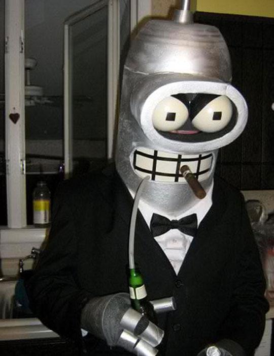 костюм робота Бендера из мультсериала «Футурама»