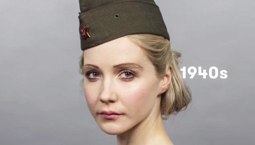 Как менялись стандарты красоты в России за последние сто лет