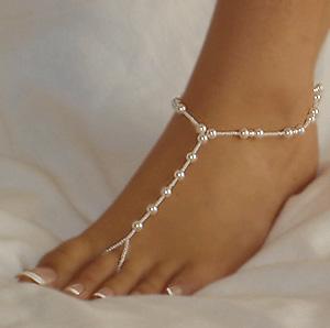 «Босые сандалии» для свадьбы