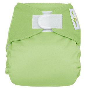Если вы вынуждены надеть на ребенка подгузник, используйте тканевый