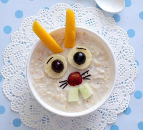 Как красиво и оригинально оформить завтрак для детей