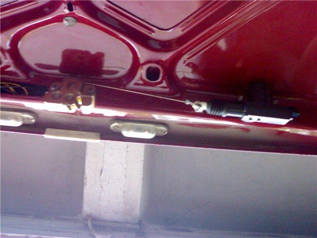 Как сделать электропривод замка багажника на ВАЗ 2107