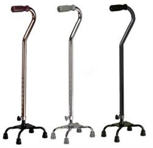 В то время как у стандартных тростей нет колесиков, оные обеспечивают бОльшую устойчивость во время ходьбы