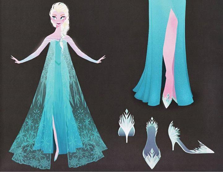 туфли королевы Эльзы из Холодного сердца