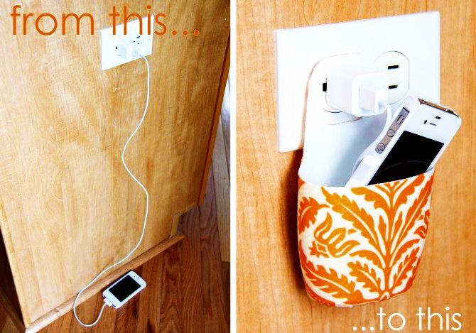 Как сделать чехол для зарядки телефона из обычного флакона