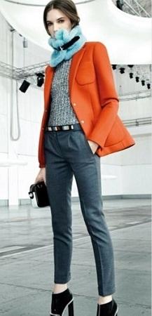 Как выглядеть модно в осенние холода?