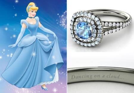 Как выглядят обручальные кольца, созданные в честь принцесс Диснея