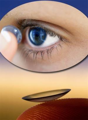 Если у вас в глазах на тот момент находились контактные линзы, немедленно их выньте