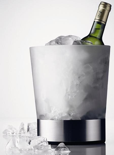 Так же охладите непосредственно и вино