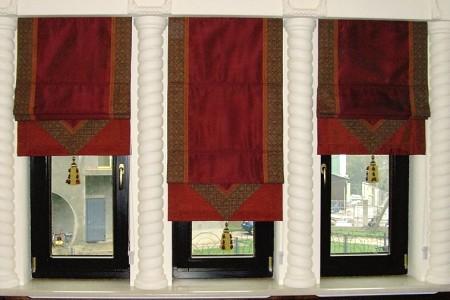Как смастерить римские и японские шторы своими руками?
