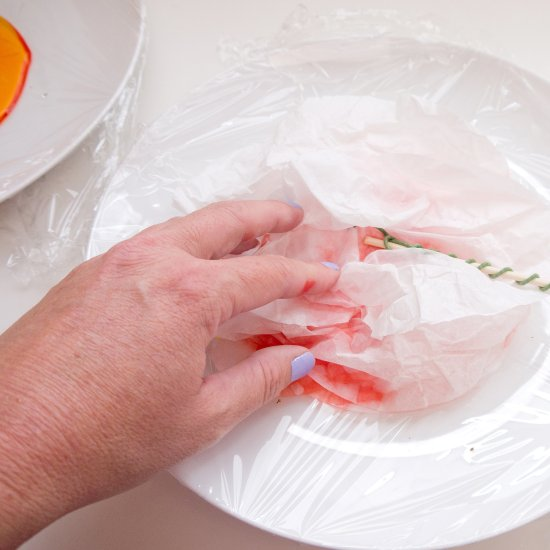 Как сделать красочные пионы из бумаги