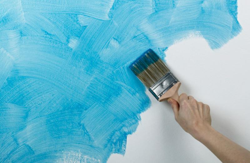 Как окрасить стены в комнате качественно