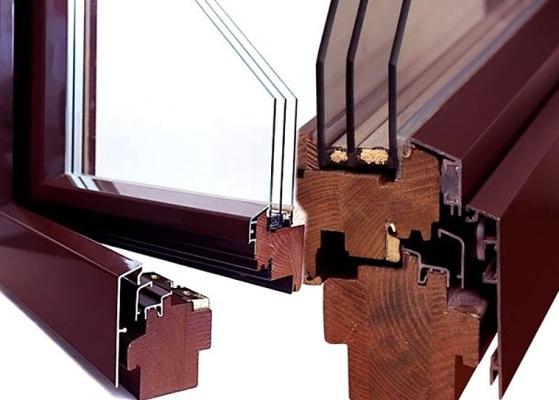 Как выбрать стильные деревоалюминиевые окна