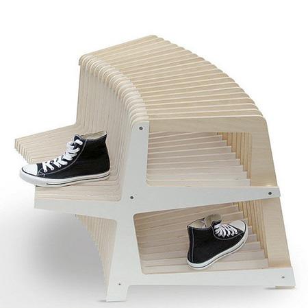влагоустойчивая полка для обуви