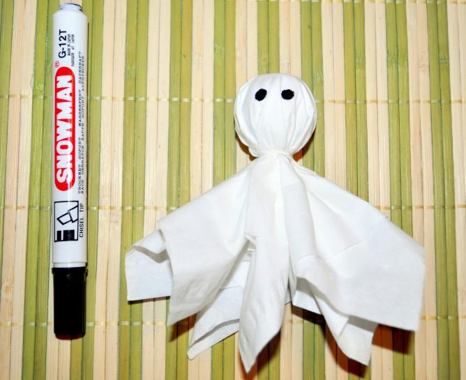 Как сделать детские поделки на Хэллоуин? Часть 1: Приведения и мумии.