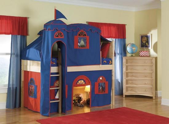 Как сделать в квартире детскую игровую зону?