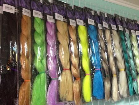 Как использовать канекалон для плетения косичек?