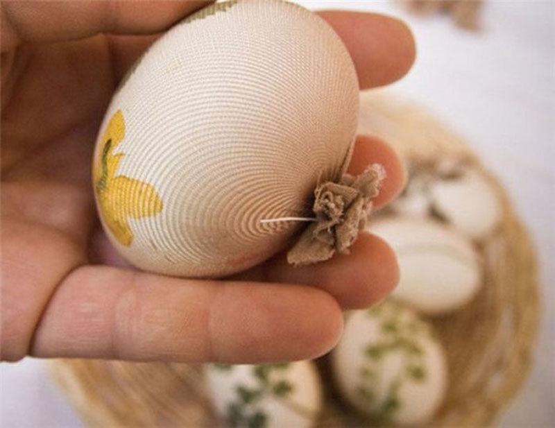 Как украсить яйца к Пасхе. Часть 1