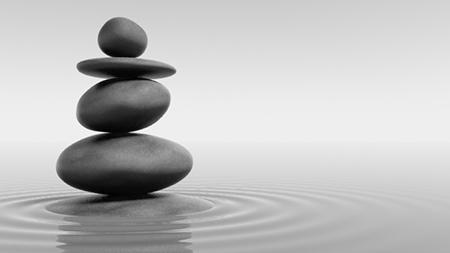 дзен-композиция из камней