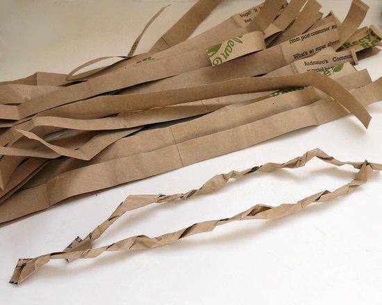 Как сделать декоративный осенний венок из бумаги