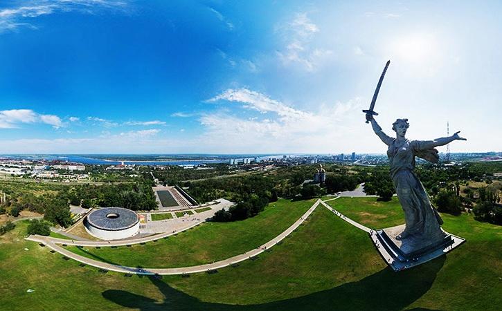 Как устроена скульптура «Родина – Мать зовет» в Волгограде (Мамаев курган)