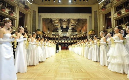 Как проходит традиционный венский бал
