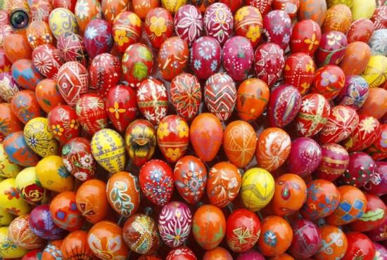 Как выглядят самые необычные пасхальные яйца