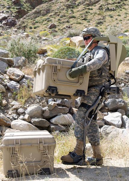 реальные военные разработки экзоскелет испытания на поле