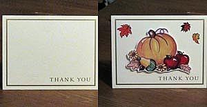 Декорируйте простую открытку с надписью при помощи стикеров и наборов клейких картинок