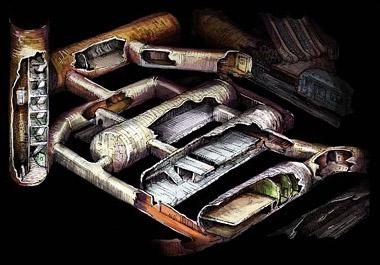 схемы заброшенных подземных сооружений диггерам