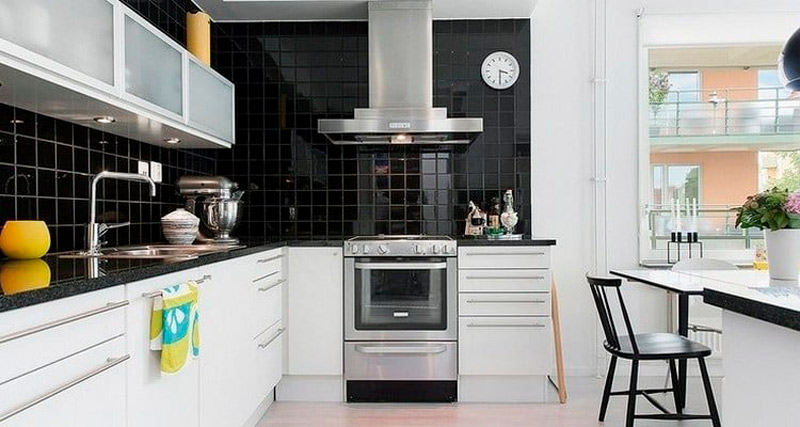 Как оформить рабочую зону на кухне
