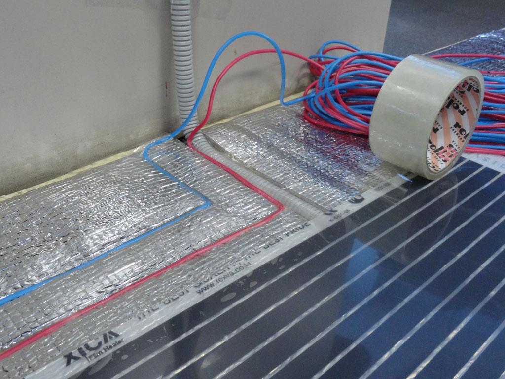 теплый пол от электросети