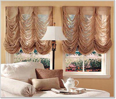 Как пошить шторы во французском стиле?