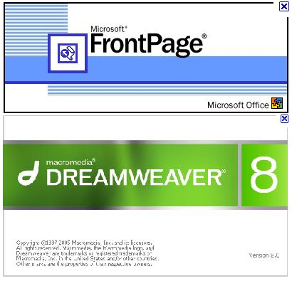 Macromedia Dreamweaver и Microsoft FrontPage