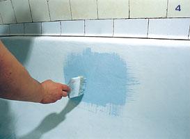 Как восстановить эмаль ванны в домашних условиях?
