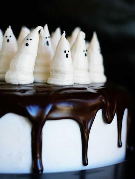 Как приготовить устрашающие, но вкусные десерты на Хэллоуин
