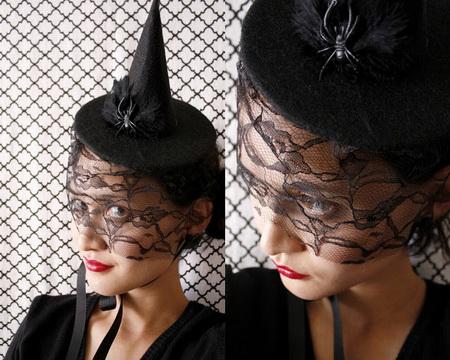 Как сделать украшение для волос на Хэллоуин?