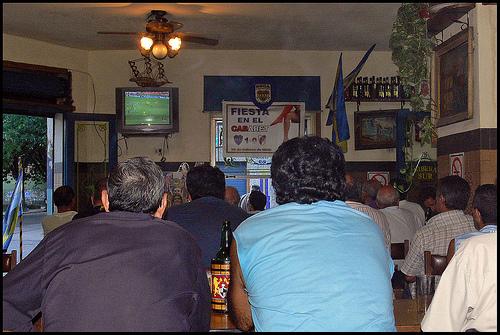 Как болеют аргентинские футбольные фанаты?