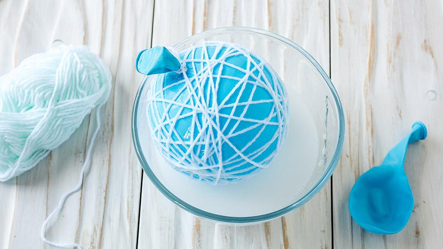 Как сделать самые простые новогодние шары для декора?