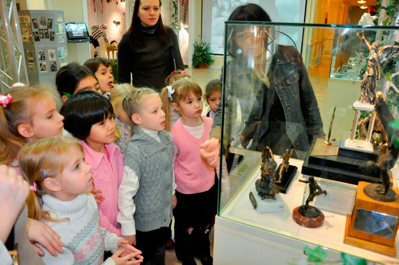 Картинка посещение музея детьми
