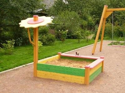 Как оборудовать детскую игровую площадку своими руками