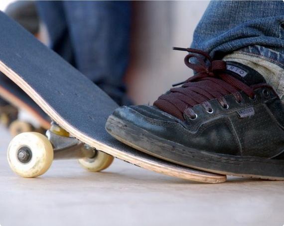 Как освоить скейтборд