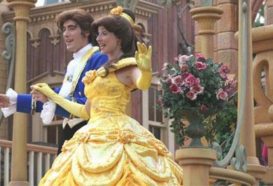 Почувствуйте себя принцем и принцессой!