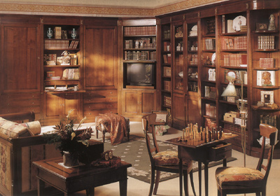 книги отлично украшают квартиру