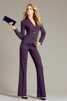 Деловой брючный женский костюм - купить по цене от 5700 рублей в...