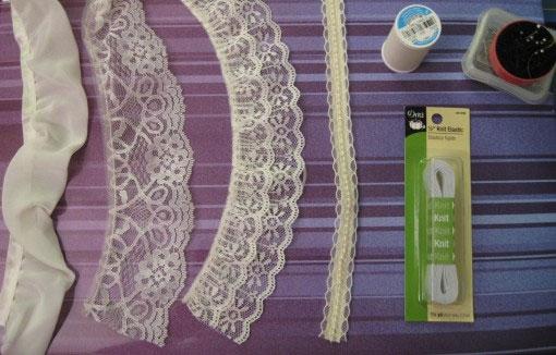 Как сшить свадебную подвязку для невесты своими руками